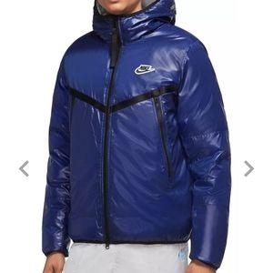 Nike Sportswear Windrunner Repel Jacket Blue